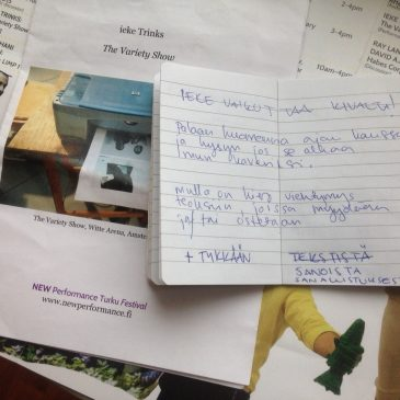 Otteita Been päiväkirjasta osa 3