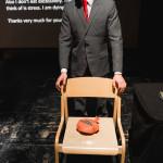 Joshua Sofaer - Embarrassment - A bare-buttocked lecture