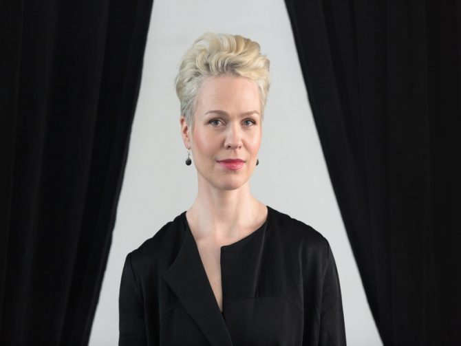 Maija Hirvanen. Photo: Naukkarinen