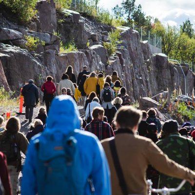 mirko nikolicin teos vuoden 2018 New Performance Turku Festivalilla. Kuva: Jussi Virkkumaa