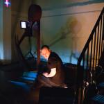 Videokaffen performanssi yhdisti ääntä, teknologiaa ja visuaalisuutta.
